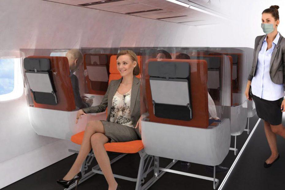 O possível futuro dos assentos nos voos para Angola