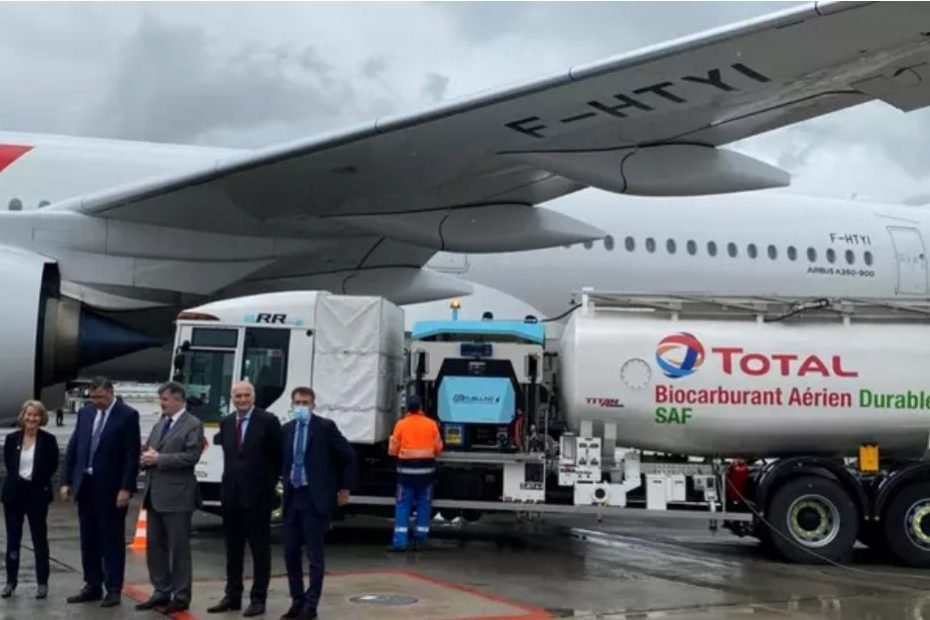 voo air france biocombustivelJPG