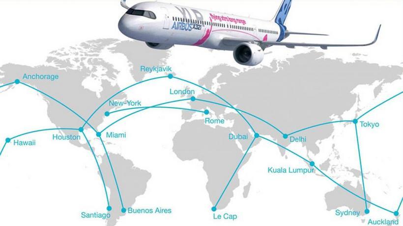 A321XLR da Airbus