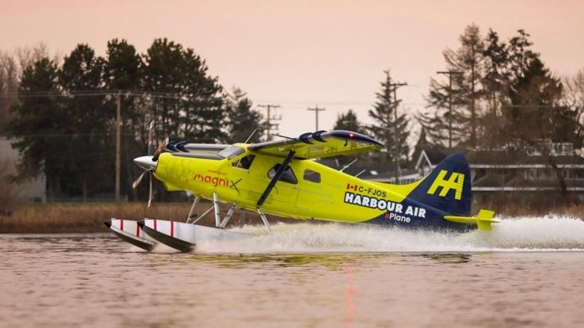 Avião da Harbour Air