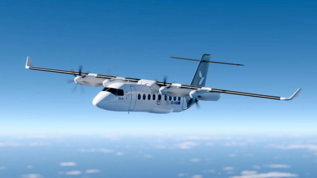 Avião elétrico Heart Aerospace ES-19 da Finnair