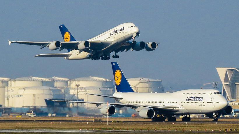 Quadrimotores A380 e Boeing 747