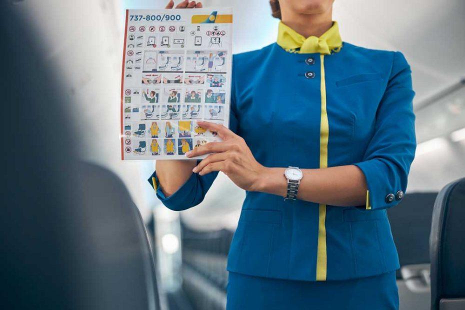 instruções de voo