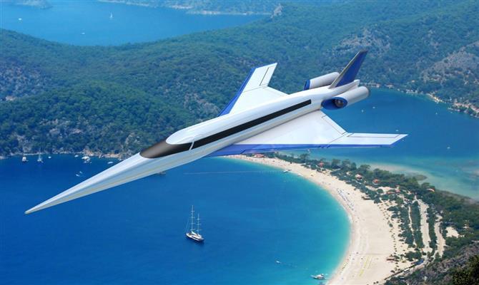 Aviões supersónicos Angola